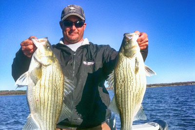 April 3rd 2018 Cedar Creek Lake Fishing Report with DallasFishingCharters.com and BigCrappie.com